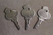 vintage luggage keys