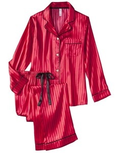 red-silk-pjs